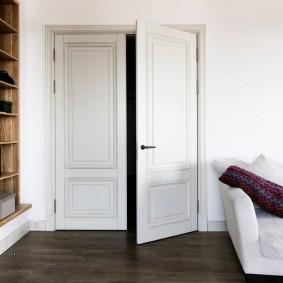 белые двери в квартире идеи вариантов