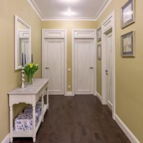 белые двери в квартире виды идеи