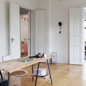 белые двери в квартире идеи виды