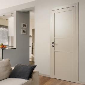 белые двери в квартире фото идеи