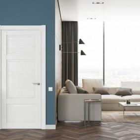 белые двери в квартире фото дизайн