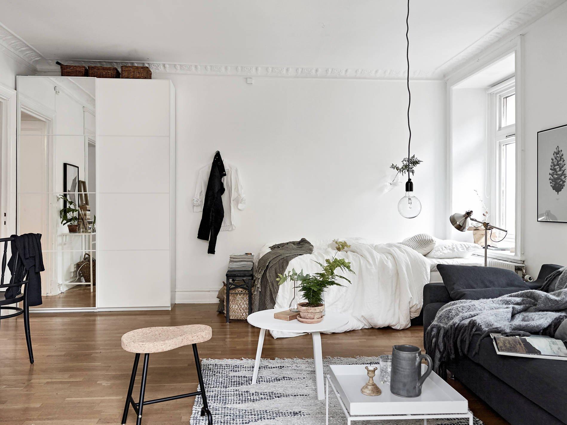 белый интерьер квартиры дизайн фото