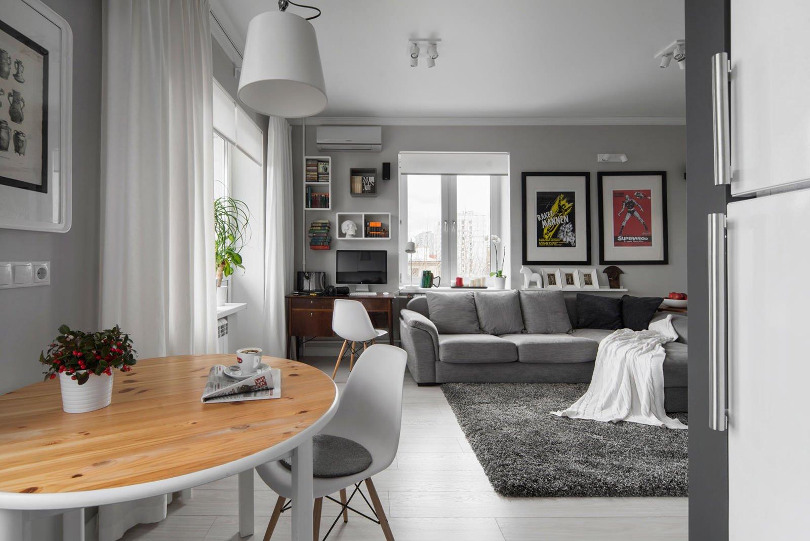 белый интерьер квартиры дизайн