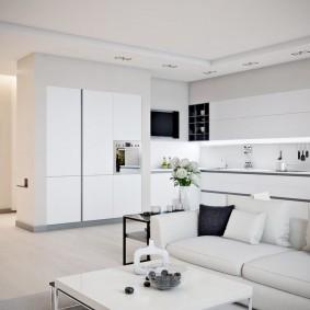 белый интерьер квартиры фото дизайна