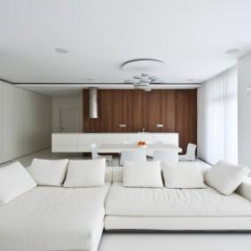 белый интерьер квартиры идеи