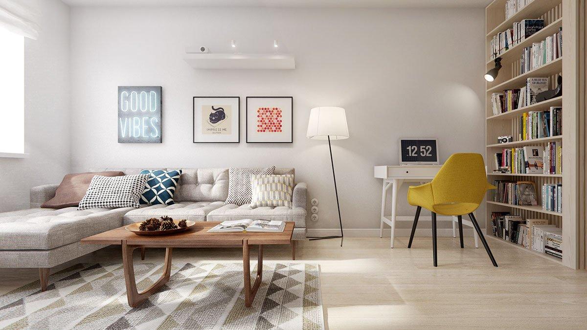 белый интерьер квартиры идеи дизайна