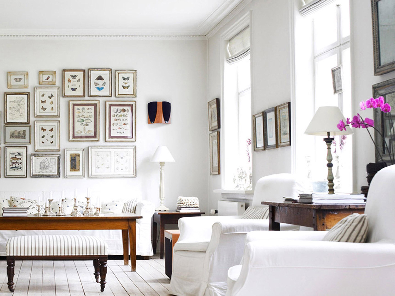 белый интерьер квартиры оформление