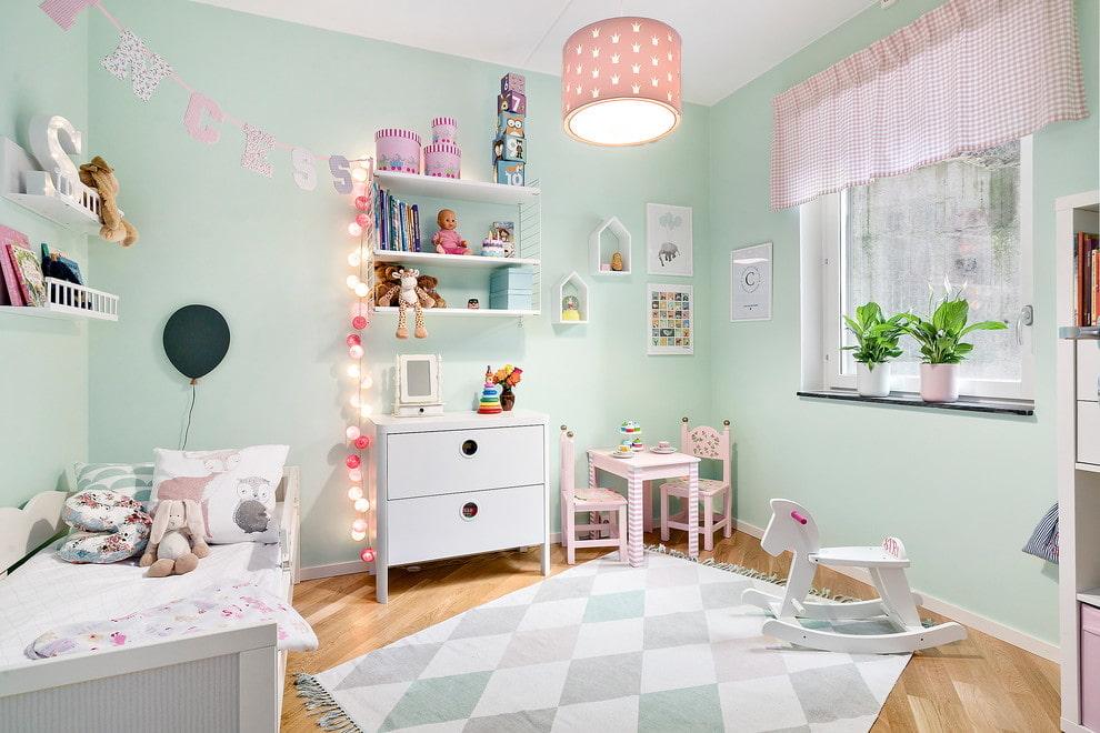 Дизайн детской спальни в скандинавском стиле