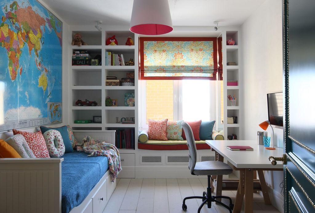 дизайн детской комнаты 14 кв м