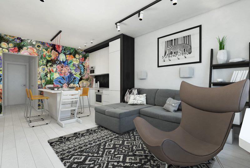 планировка квартиры распашонки