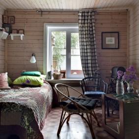 дачный садовый дом идеи интерьер