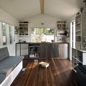 дачный садовый дом идеи декор