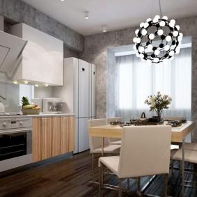 декоративная штукатурка на кухне фото дизайн