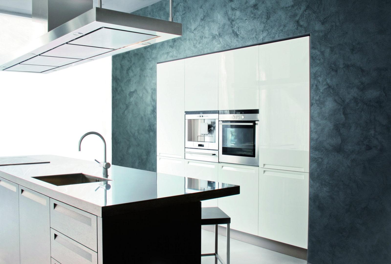 декоративная штукатурка на кухне фото идеи