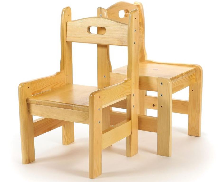детский деревянный стульчик из сосны