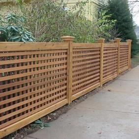 деревянный забор для участка идеи оформление