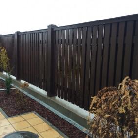 деревянный забор для участка идеи оформления