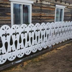 деревянный забор для участка идеи виды