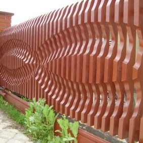 деревянный забор для участка обзор