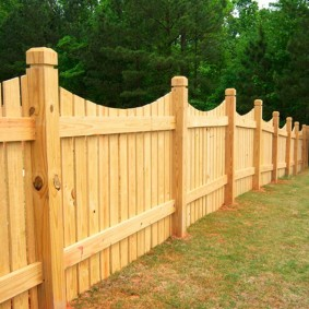 деревянный забор для участка фото дизайна