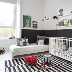 Светлая комната для разновозрастных детей