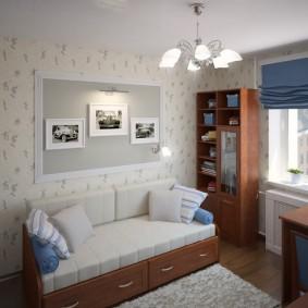Интерьер комнаты мальчика школьного возраста