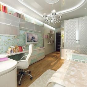 Стильная комната для девочки подростка
