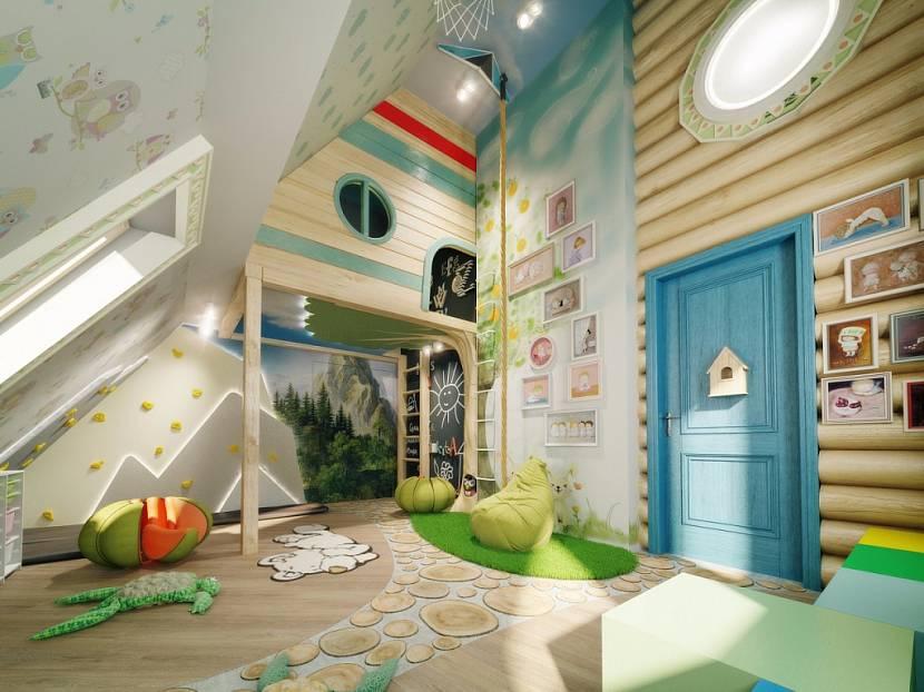 детская игровая комната декор фото