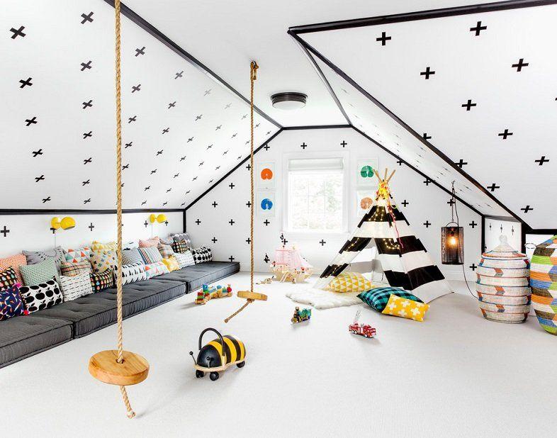 детская игровая комната дизайн фото