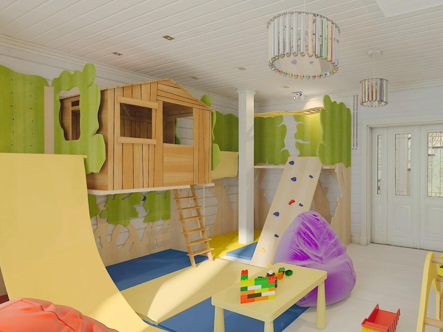детская игровая комната дизайн