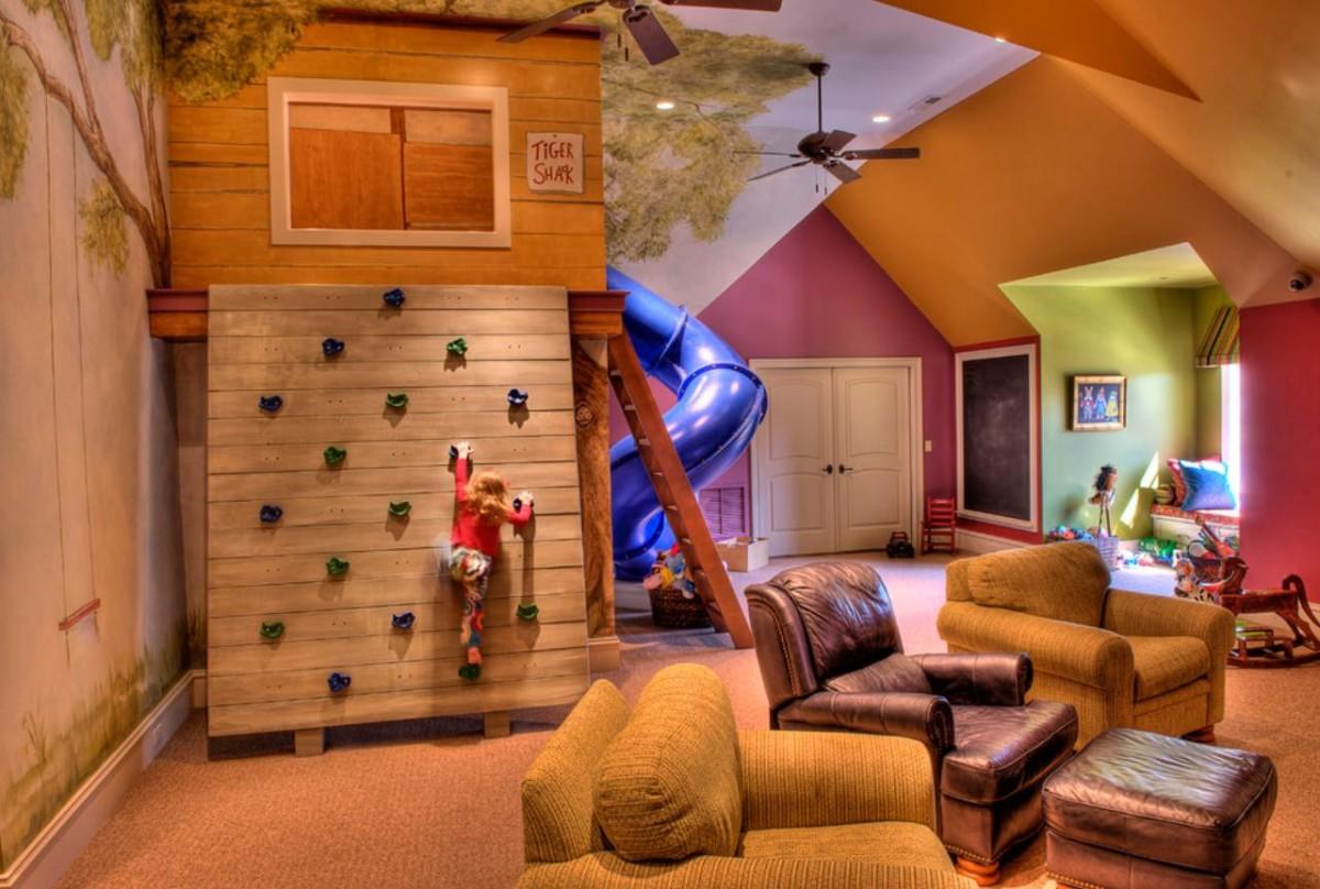 детская игровая комната фото декор
