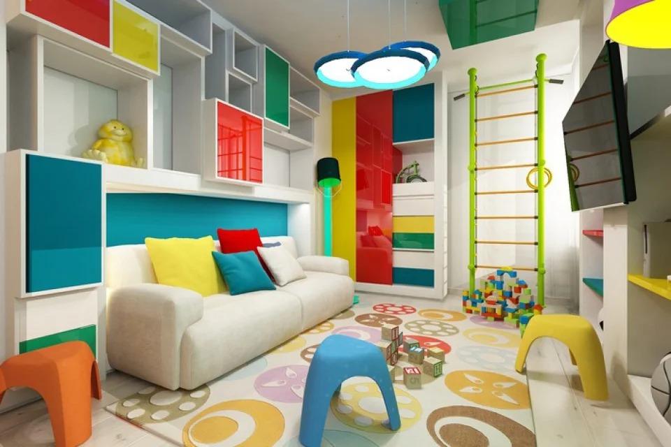 детская игровая комната фото дизайн