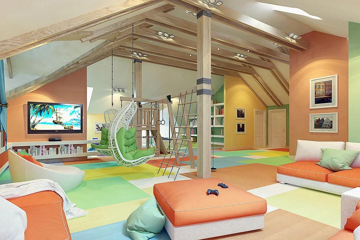детская игровая комната фото дизайна
