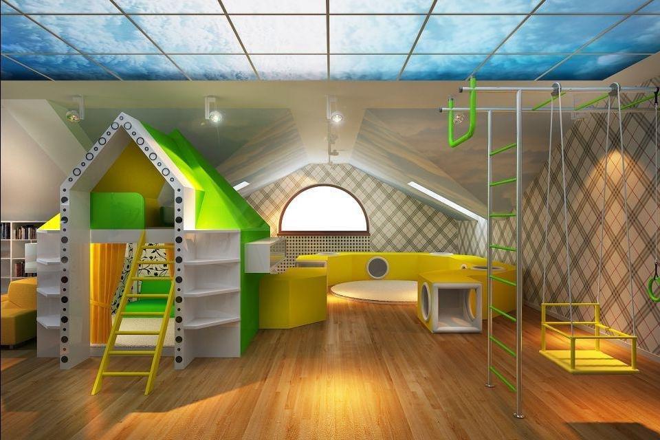 детская игровая комната фото идеи