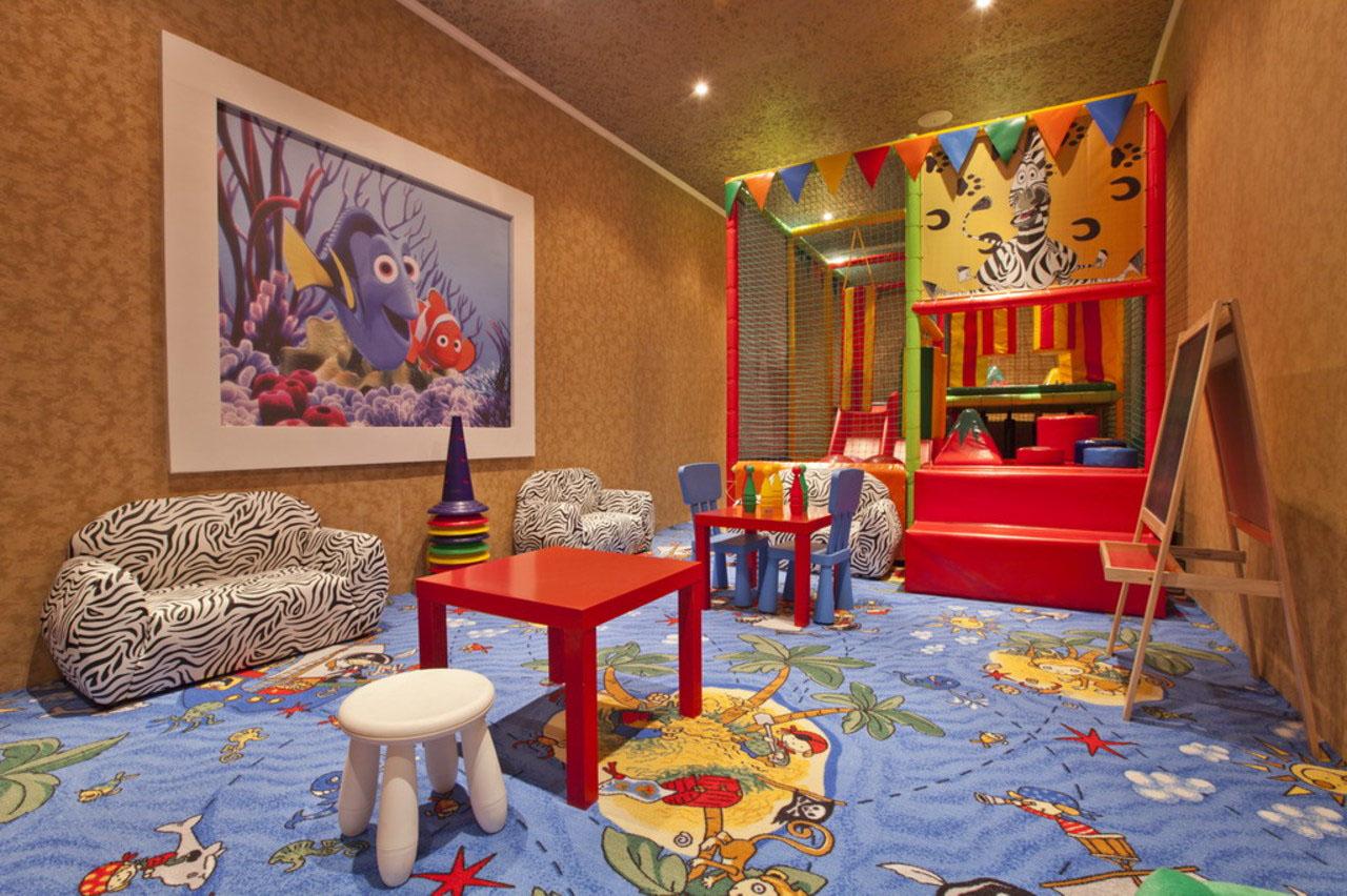 детская игровая комната идеи дизайн