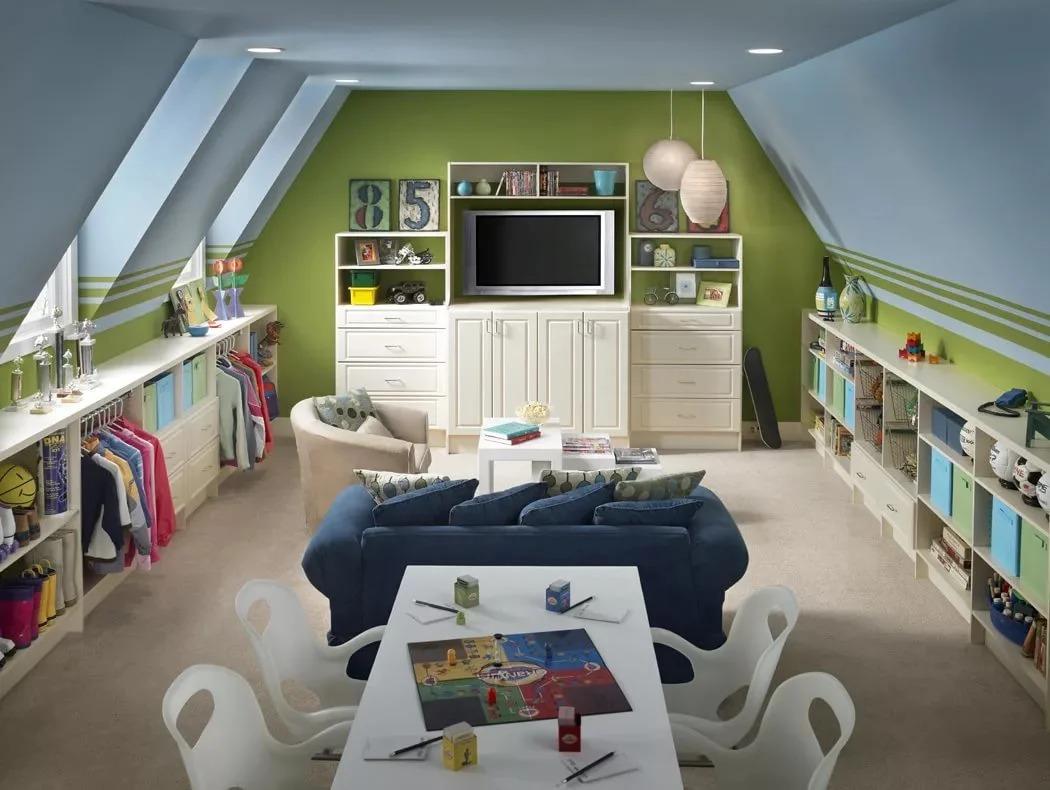 детская игровая комната идеи фото