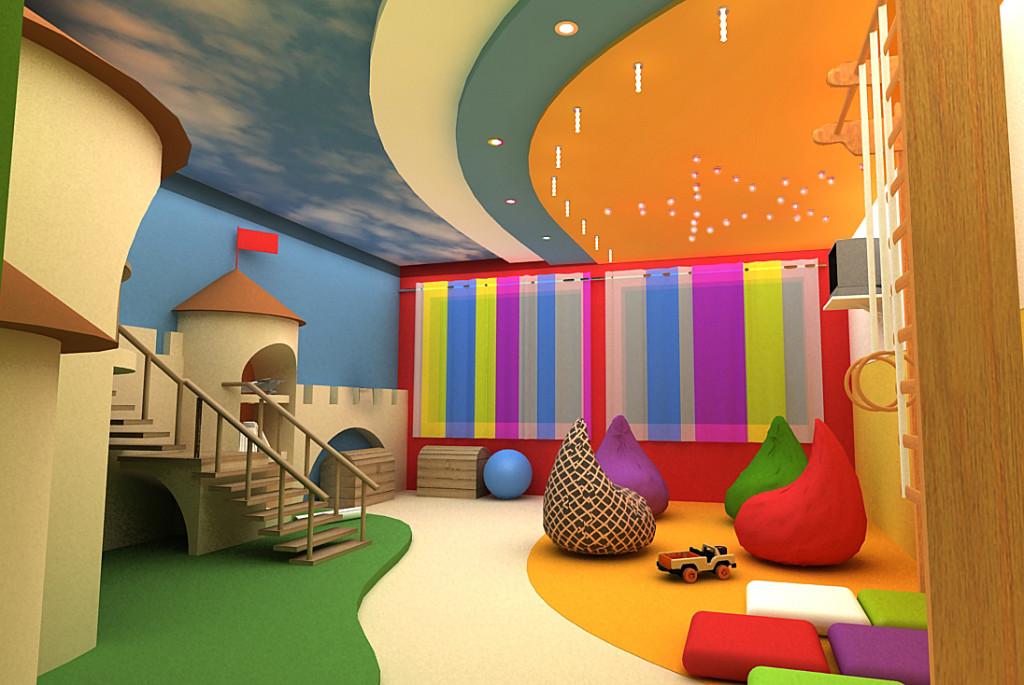 детская игровая комната идеи