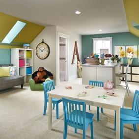 детская игровая комната оформление идеи
