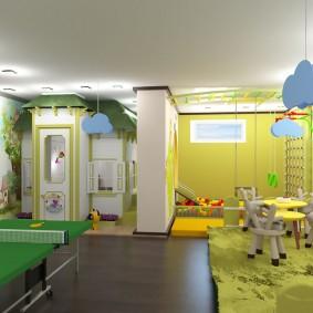 детская игровая комната варианты