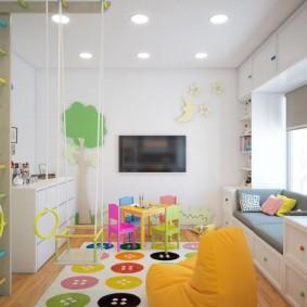 детская игровая комната варианты идеи