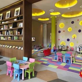 детская игровая комната виды фото