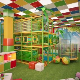 детская игровая комната виды идеи