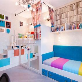детская комната 14 кв м интерьер