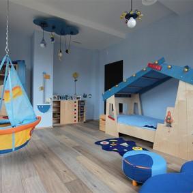 детская комната 14 кв м интерьер фото