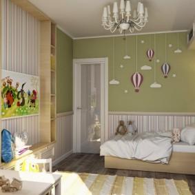 детская комната 14 кв м фото идеи