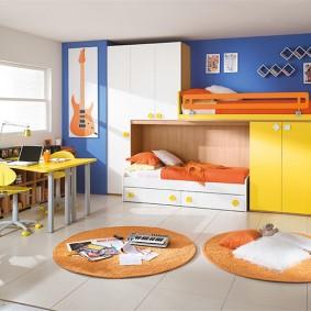 детская комната 14 кв м идеи интерьера