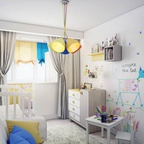 детская комната 14 кв м идеи оформление
