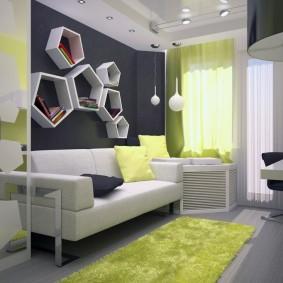 детская комната 14 кв м варианты