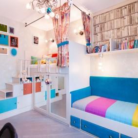 детская комната 14 кв м дизайн фото
