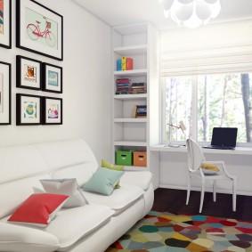 детская комната 14 кв м варианты фото